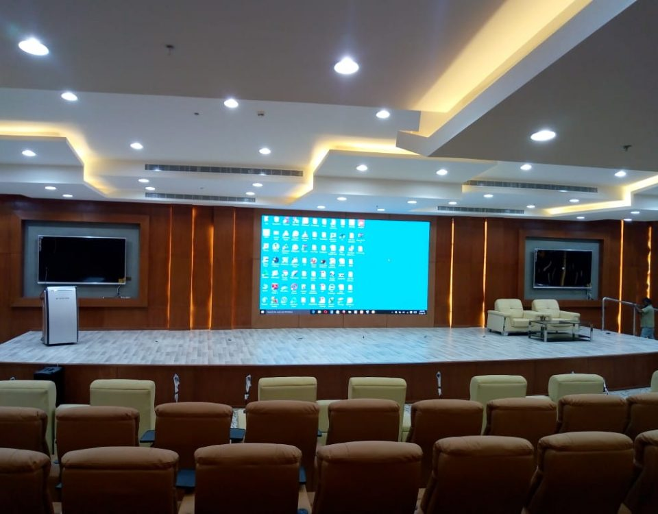 itc P2 LED Video Wall Installed in Justice Training Center , Saudi Arabia.