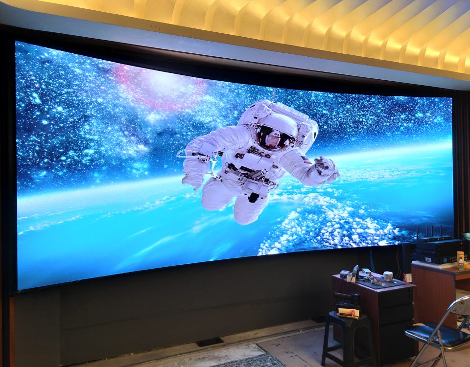 itc P1.25 Fine Pixel LED Video Wall Been Installed In SUNDA building, Jakarta, Indonesia