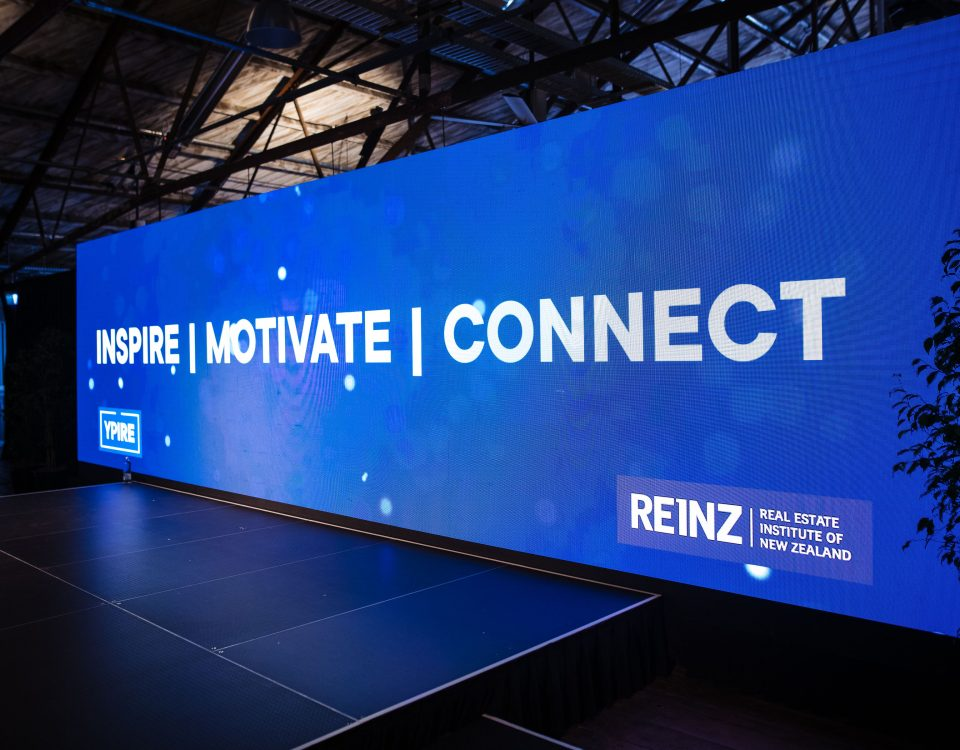 itc P3.91 LED Rental Screen applied to the Real Estate Institute of New Zealand(REINZ)