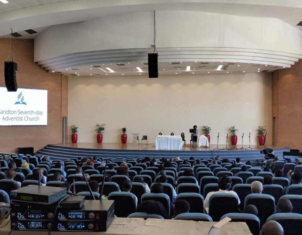 itc LED Screens&Pro Sound System applied to Sandton Church of South Africa