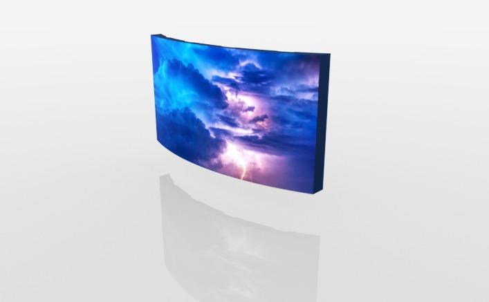 Soft LED screen