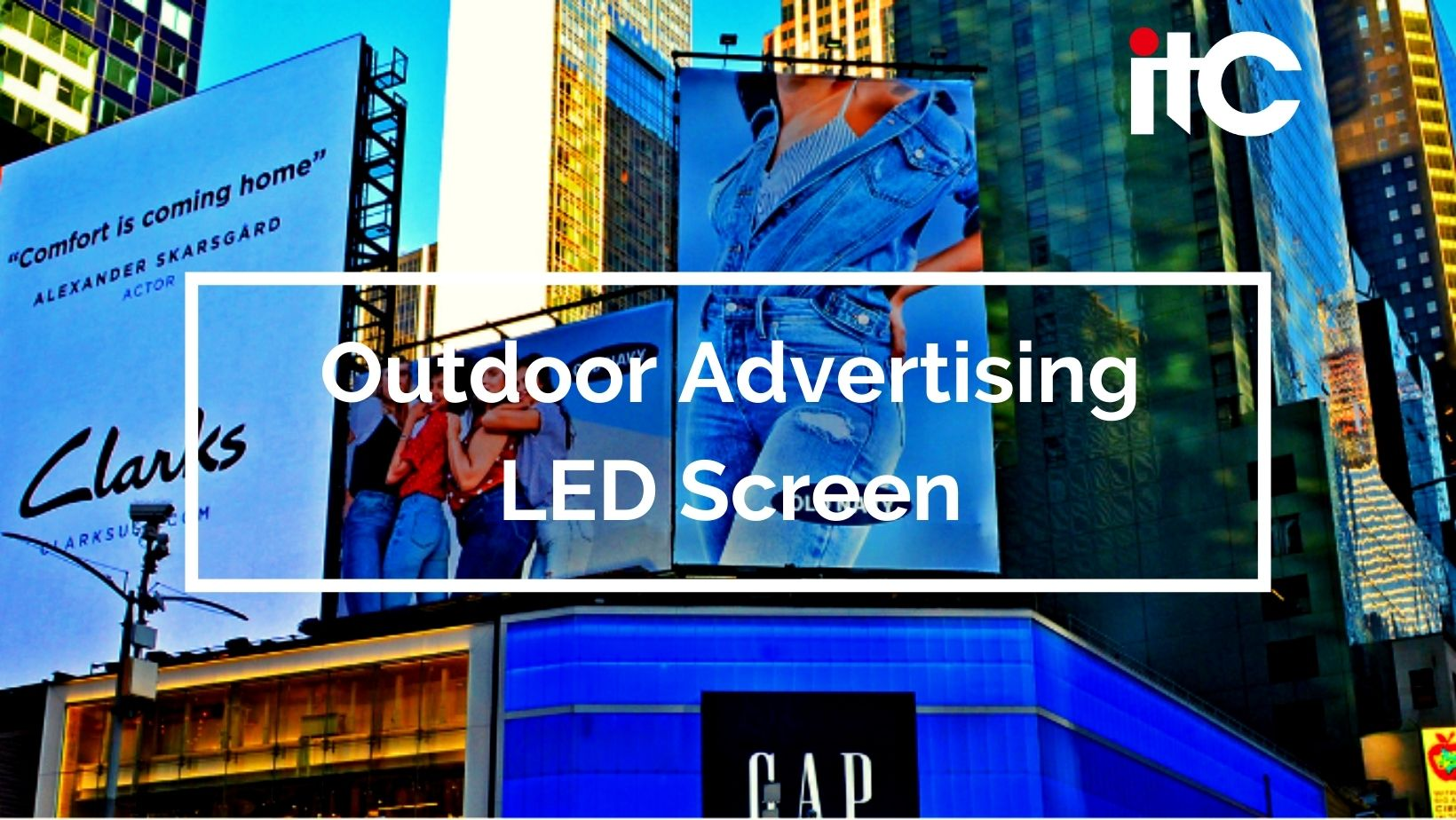 The unique value of LED screens for outdoor advertising