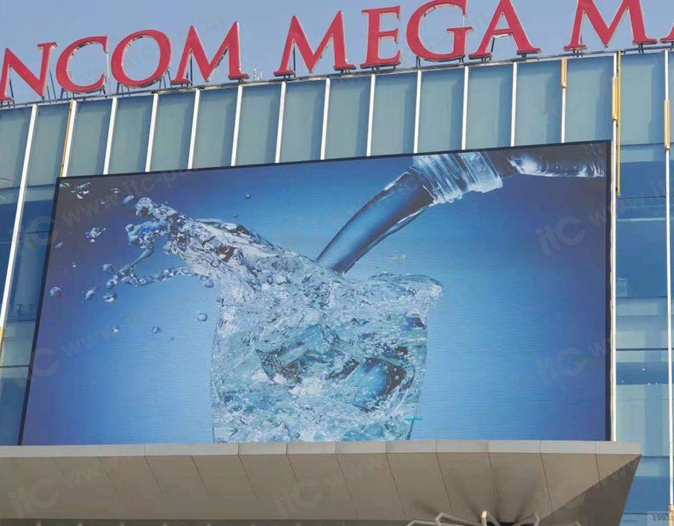 itc LED video Wall equipped in Vincom Mega Mall Ocean Park City,Vietnam