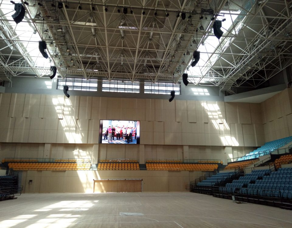 itc LED Screen Applied in Hancheng Sports Centre