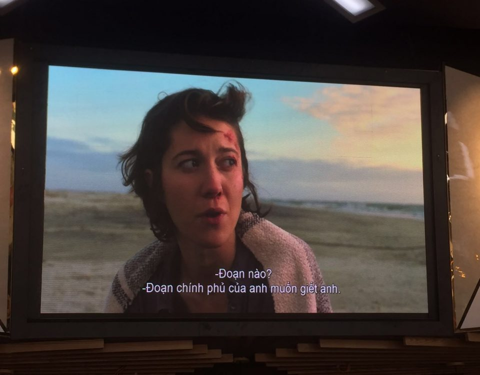 itc LED Screen Furnished in Dcine Ben Thanh Cinema in Dictrict 1,  HCM, Vietnam