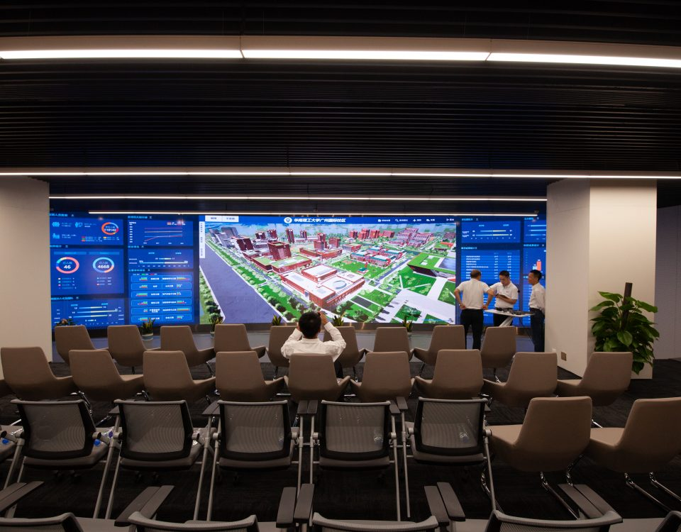 itc LED Screen Utilized in the International College of South China University of Technology