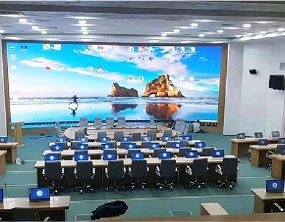 itc LED Screen Applied in Government project,Uzbekistan.